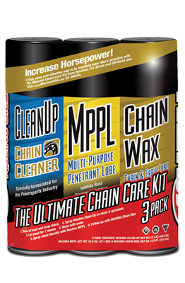 CHAIN WAX CHAIN CARE COMBO KIT