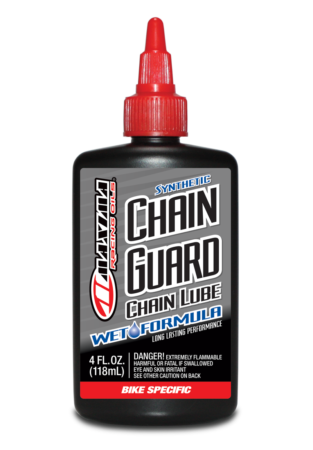 Synthetic Chain Guard Wet